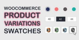 افزونه WooCommerce Product Variations Swatches برای ووکامرس
